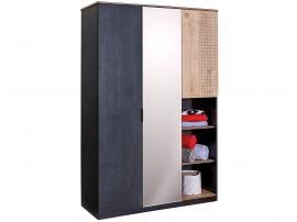 Шкаф 3-дверный Black (1002) изображение 1