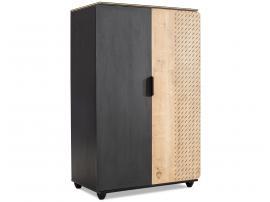 Шкаф 2-х дверный Black (1004) изображение 1
