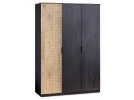 Шкаф 3-х дверный Black (1013) изображение 1