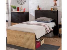 Кровать Black 100x200 (1301) изображение 2