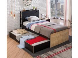 Кровать выдвижная Black 90x190 (1302) изображение 2