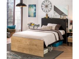 Кровать Black 120x200 (1303) изображение 4