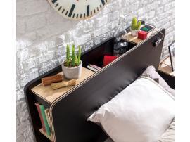 Кровать Black 120x200 (1303) изображение 3
