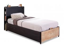 Кровать с подъемным механизмом Black 100x200 (1705) изображение 1