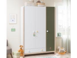 Шкаф 3-х дверный Montessori (1308) изображение 2