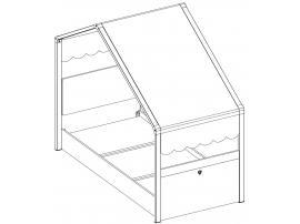 Кровать Montessori 80х180 (1301) изображение 7
