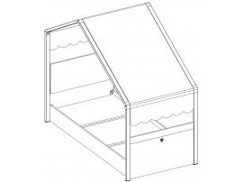 Кровать Montessori 90х200 (1302) изображение 7