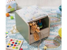 Пуф-ящик для игрушек Montessori (1901) изображение 3