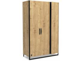 Шкаф 3-х дверный Wood Metal (1002) изображение 1
