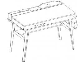 Стол малый Wood Metal (1103) изображение 2