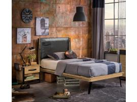 Кровать Wood Metal 100х200 (1301) изображение 2