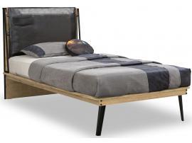 Кровать Wood Metal 100х200 (1301) изображение 1
