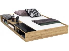 Выдвижная кровать с полками Wood Metal (1305)