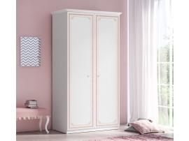 Шкаф 2-х дверный Selena Pink (1001) изображение 3