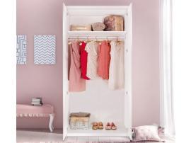 Шкаф 2-х дверный Selena Pink (1001) изображение 2