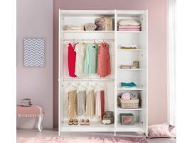 Шкаф 3-х дверный Selena Pink (1002) изображение 2