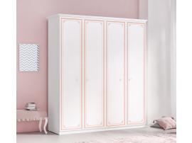 Шкаф 4-х дверный Selena Pink (1003) изображение 2