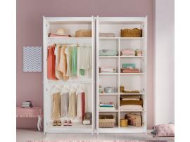 Шкаф 4-х дверный Selena Pink (1003) изображение 3