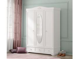 Шкаф 3-х дверный Rustic White (1001) изображение 2