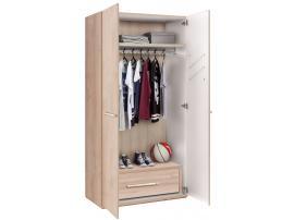 Шкаф 2-х дверный Duo (1001) изображение 3