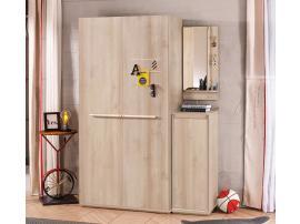 Шкаф 2-х дверный Duo (1001) изображение 2