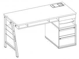 Стол большой Duo (1101) изображение 3