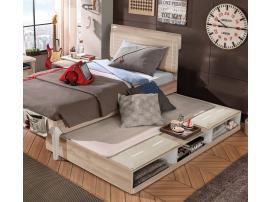 Выдвижная кровать Duo с полками 90х190 (1305) изображение 2