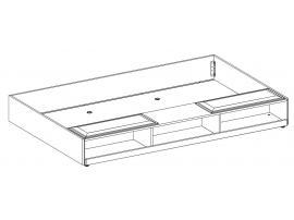 Выдвижная кровать Duo с полками 90х190 (1305) изображение 3