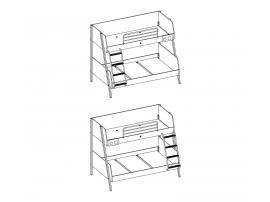 Кровать двухъярусная Duo (1401) изображение 3