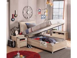 Кровать с подъемным механизмом Duo 100x200 (1705) изображение 2