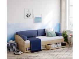 Подушки для кровати-дивана (3462) голубые изображение 2