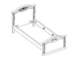 Кровать 21.445 изображение 1