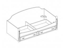 Кровать - диван с 2-мя ящиками 21.405 изображение 1