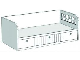 Кровать-диван с 3-мя ящиками VD2Q Velvet изображение 2