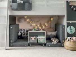 Журнальный столик/ Контейнер с ящиками для кровати multi Nest изображение 5