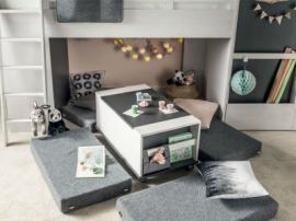 Журнальный столик/ Контейнер с ящиками для кровати multi Nest изображение 3