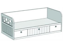 Кровать-диван с 3-мя ящиками VD2Q Velvet изображение 1