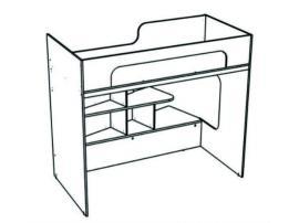 Кровать-чердак угловая Junior BRU1 изображение 2