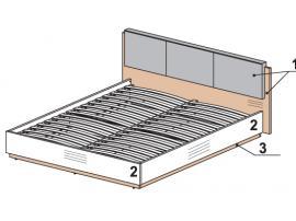 Кровать Leona 52K303 изображение 1