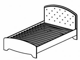 Кровать Стрекоза СФ-318602 изображение 1