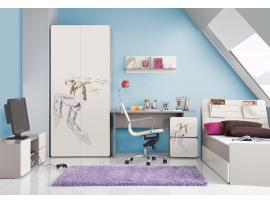 Шкаф 2-дверный с рисунком 2piR изображение 8