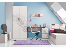 Шкаф 2-дверный с рисунком 2piR изображение 7