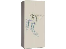Шкаф 2-дверный с рисунком 2piR изображение 3