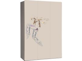 Шкаф 3-дверный с рисунком 2piR изображение 5