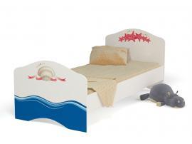 Кровать для девочки Океан (Адвеста)
