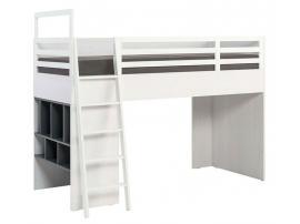 Кровать-чердак Nest левосторонняя изображение 1