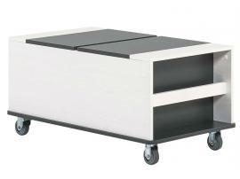 Журнальный столик/ Контейнер с ящиками для кровати multi Nest изображение 1