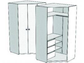 Шкаф-трапеция угловой с 3-мя внутренними ящиками VSU-31Q Velvet изображение 1