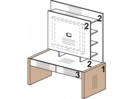 Стол под ТВ 52S004 Leona изображение 1