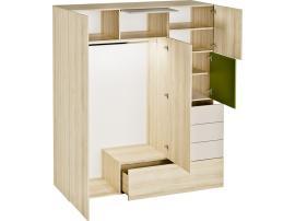 Шкаф 3-х дверный 3D изображение 2